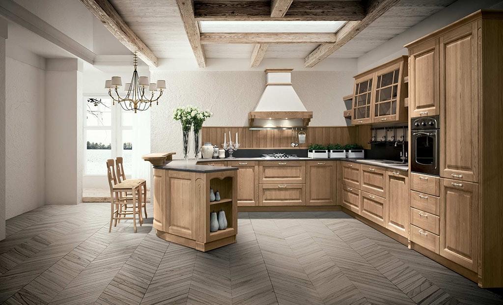 Cucina in legno Sstosa Bolgheri