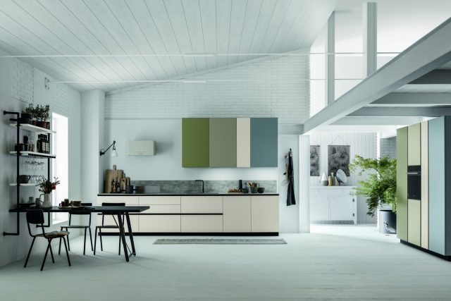 Cucina stosa color trend stosa point roma