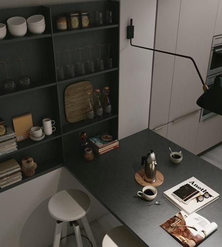 cucine con penisola stosa modello replay